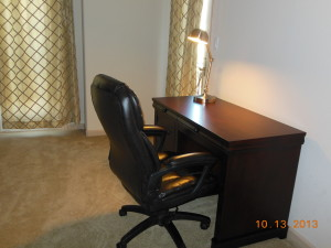 Desk & chair in Master bedroom